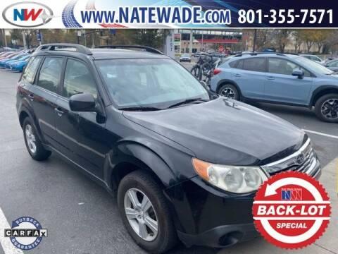2010 Subaru Forester for sale at NATE WADE SUBARU in Salt Lake City UT