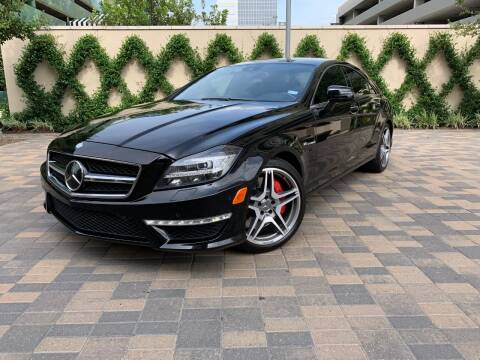 2012 Mercedes-Benz CLS for sale at ROGERS MOTORCARS in Houston TX