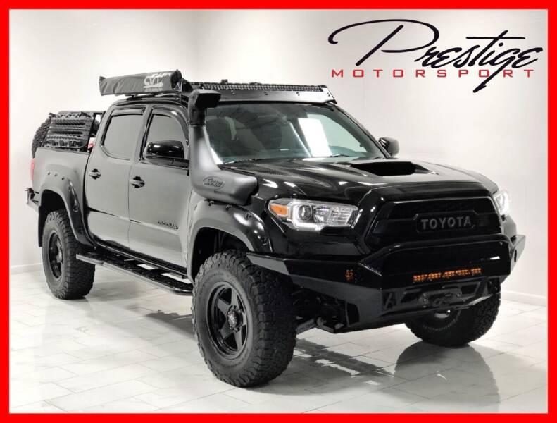 2016 Toyota Tacoma for sale at Prestige Motorsport in Rancho Cordova CA