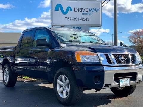2008 Nissan Titan for sale at Driveway Motors in Virginia Beach VA