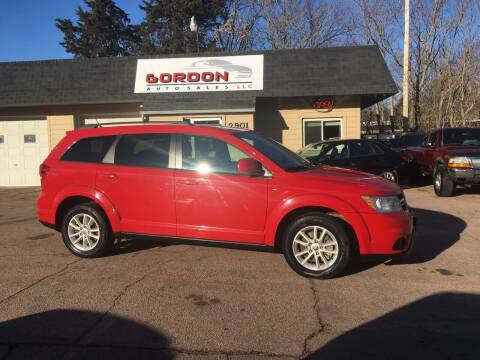 2013 Dodge Journey for sale at Gordon Auto Sales LLC in Sioux City IA