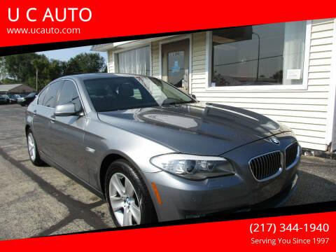 2012 BMW 5 Series for sale at U C AUTO in Urbana IL