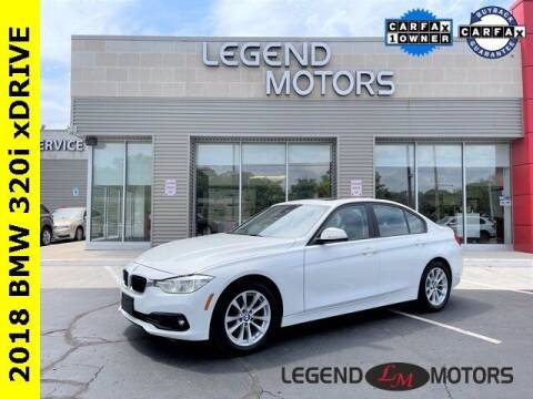 2018 BMW 3 Series for sale at Legend Motors of Waterford in Waterford MI