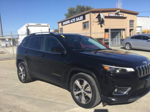 2019 Jeep Cherokee for sale at Sanders Auto Sales in Lincoln NE