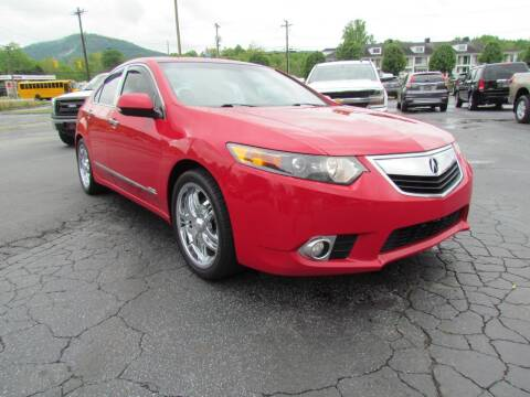 2013 Acura TSX for sale at Hibriten Auto Mart in Lenoir NC