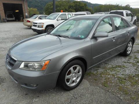 2006 Hyundai Sonata for sale at Sleepy Hollow Motors in New Eagle PA