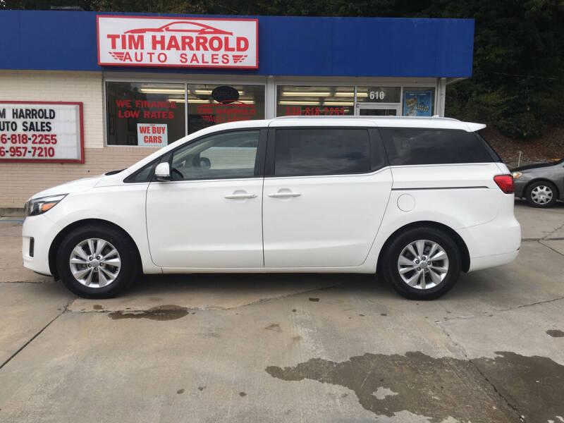 2015 Kia Sedona for sale at Tim Harrold Auto Sales in Wilkesboro NC