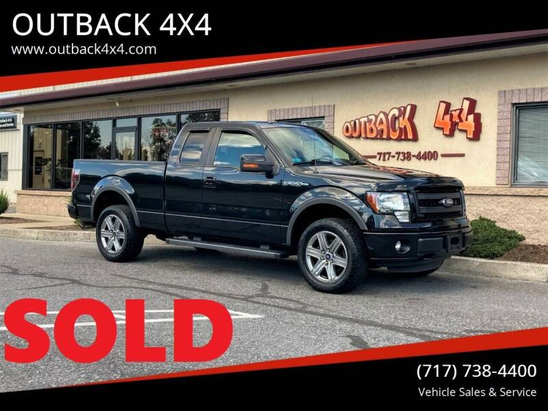 2013 Ford F-150 for sale at OUTBACK 4X4 in Ephrata PA