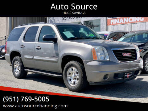 2008 GMC Yukon for sale at Auto Source in Banning CA