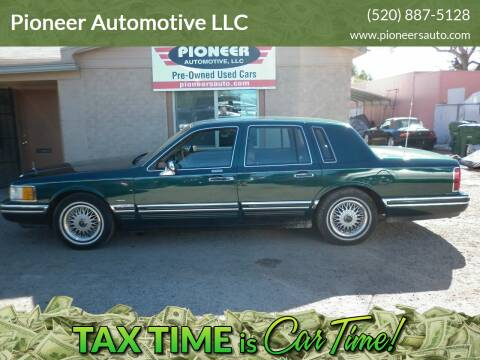 1994 Lincoln Town Car for sale at Pioneer Automotive LLC in Tucson AZ
