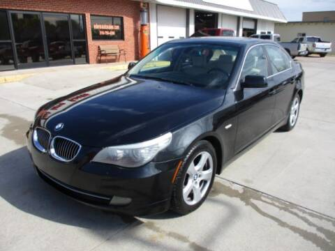 2008 BMW 5 Series for sale at Eden's Auto Sales in Valley Center KS