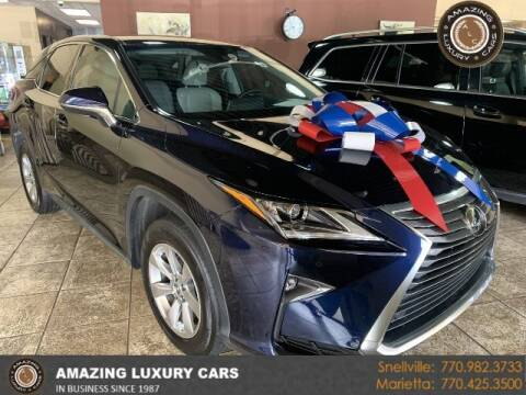 2018 Lexus RX 350 for sale at Amazing Luxury Cars in Snellville GA