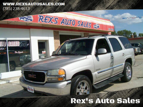 2004 GMC Yukon for sale at Rex's Auto Sales in Junction City KS