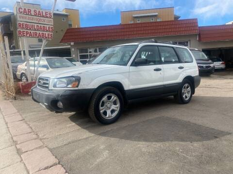 2004 Subaru Forester for sale at STS Automotive in Denver CO