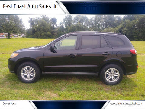 2011 Hyundai Santa Fe for sale at East Coast Auto Sales llc in Virginia Beach VA