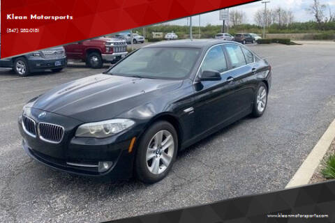 2012 BMW 5 Series for sale at Klean Motorsports in Skokie IL