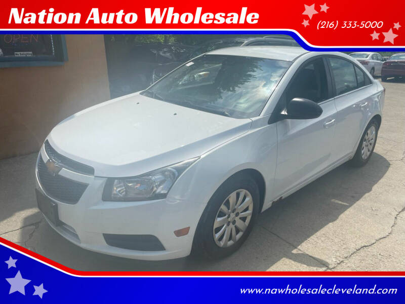 2011 Chevrolet Cruze for sale at Nation Auto Wholesale in Cleveland OH