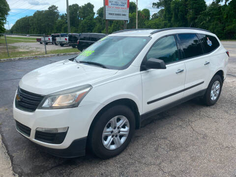 2014 Chevrolet Traverse for sale at TOP OF THE LINE AUTO SALES in Fayetteville NC