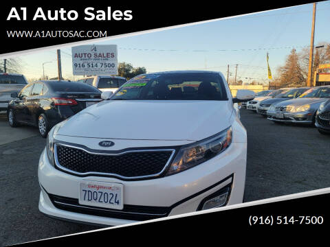 2014 Kia Optima for sale at A1 Auto Sales in Sacramento CA