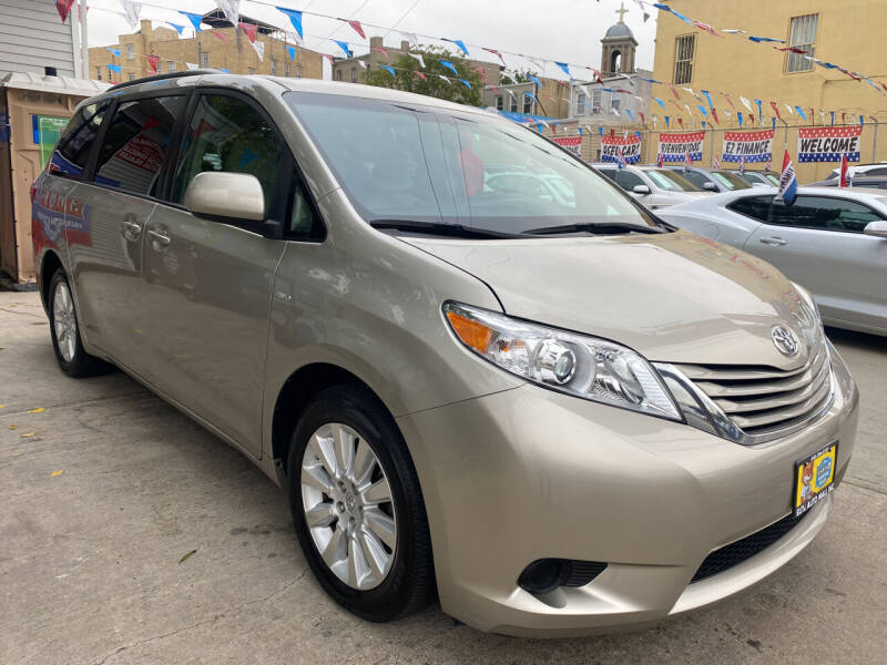 2016 Toyota Sienna for sale at Elite Automall Inc in Ridgewood NY