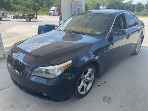 2006 BMW 5 Series for sale at Trocci's Auto Sales in West Pittsburg PA