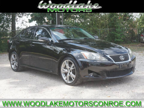 2010 Lexus IS 250 for sale at WOODLAKE MOTORS in Conroe TX