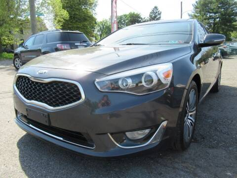 2014 Kia Cadenza for sale at PRESTIGE IMPORT AUTO SALES in Morrisville PA