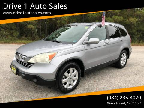 2008 Honda CR-V for sale at Drive 1 Auto Sales in Wake Forest NC