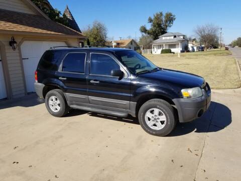2007 Ford Escape for sale at Eastern Motors in Altus OK