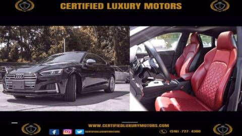2018 Audi S5 Sportback for sale at CERTIFIED LUXURY MOTORS OF QUEENS in Elmhurst NY