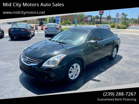 2012 Nissan Altima for sale at Mid City Motors Auto Sales in Fort Myers FL