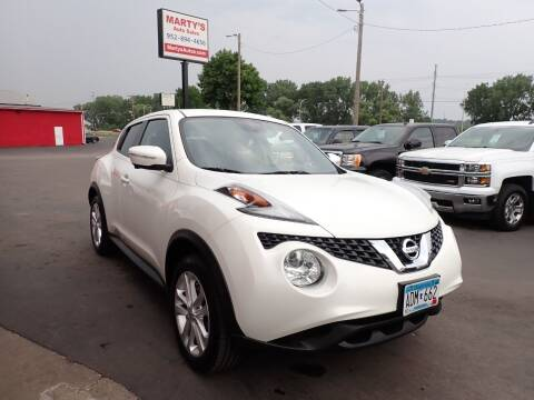 2015 Nissan JUKE for sale at Marty's Auto Sales in Savage MN