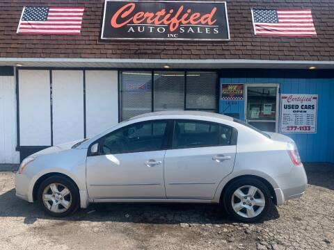 2008 Nissan Sentra for sale at Certified Auto Sales, Inc in Lorain OH