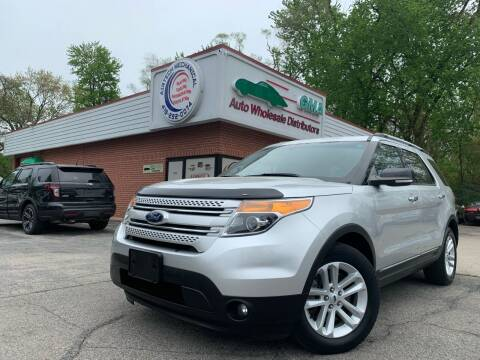 2013 Ford Explorer for sale at GMA Automotive Wholesale in Toledo OH