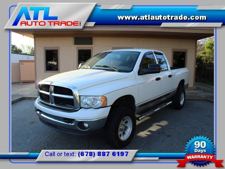 2004 Dodge Ram Pickup 2500 for sale at ATL Auto Trade, Inc. in Stone Mountain GA
