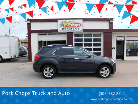 2014 Chevrolet Equinox for sale at Pork Chops Truck and Auto in Cheyenne WY