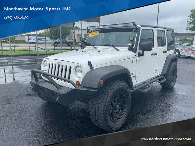 2010 Jeep Wrangler Unlimited for sale at Northwest Motor Sports INC in Rogers AR