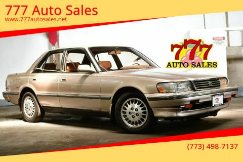 1992 Toyota Cressida for sale at 777 Auto Sales in Bedford Park IL