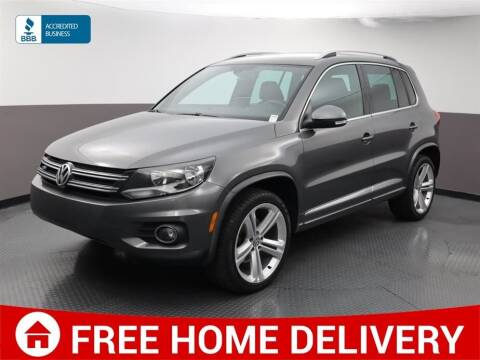 2016 Volkswagen Tiguan for sale at Florida Fine Cars - West Palm Beach in West Palm Beach FL
