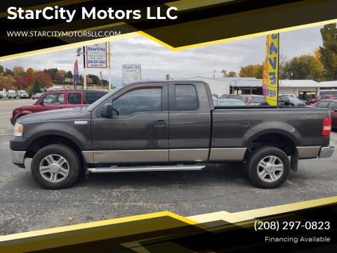 2005 Ford F-150 for sale at StarCity Motors LLC in Garden City ID