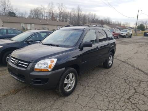 2008 Kia Sportage for sale at David Shiveley in Mount Orab OH