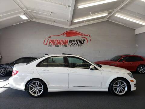 2014 Mercedes-Benz C-Class for sale at Premium Motors in Villa Park IL