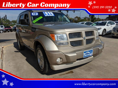2010 Dodge Nitro for sale at Liberty Car Company in Waterloo IA