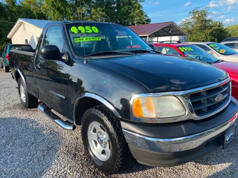 2003 Ford F-150 for sale at Rocket Center Auto Sales in Mount Carmel TN