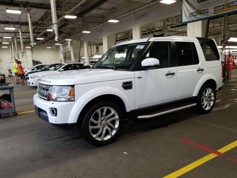 2016 Land Rover LR4 for sale at SILVER ARROW AUTO SALES CORPORATION in Newark NJ