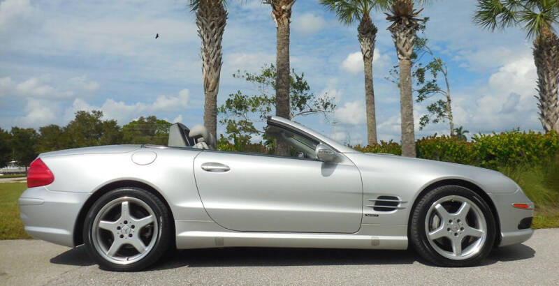 2003 Mercedes-Benz SL-Class for sale at Performance Autos of Southwest Florida in Fort Myers FL