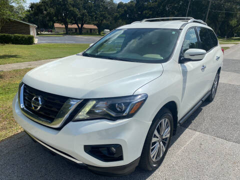 2018 Nissan Pathfinder for sale at P J Auto Trading Inc in Orlando FL