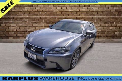 2014 Lexus GS 350 for sale at Karplus Warehouse in Pacoima CA
