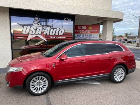2012 Lincoln MKT for sale at USA Auto Inc in Mesa AZ