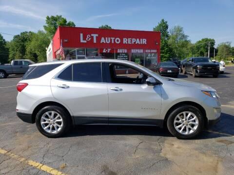 2019 Chevrolet Equinox for sale at L&T Auto Sales in Three Rivers MI